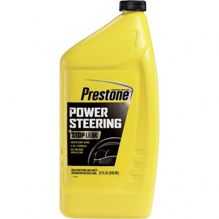 Prestone Power Steering Fluid & Stop LEAK - 946ML