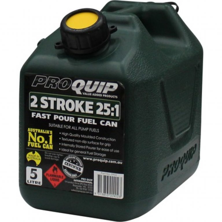 Pro QUIP 2 Stroke Jerry Can - 5 Litre