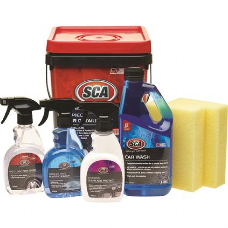 SCA Car Detailing Kit - 7 Pieces