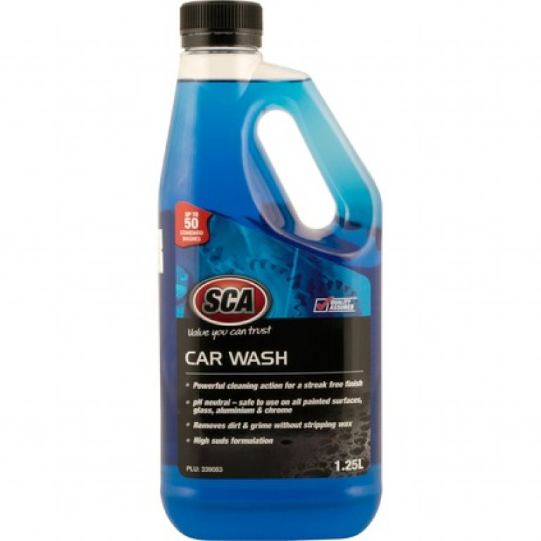 SCA Concentrate Car WASH - 1.25 Litre
