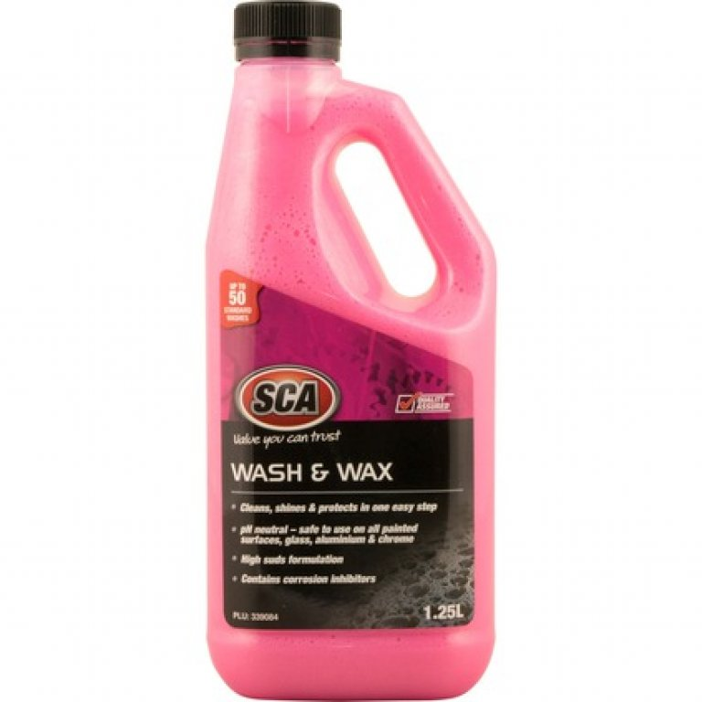 SCA Concentrate WASH and WAX - 1.25 Litre