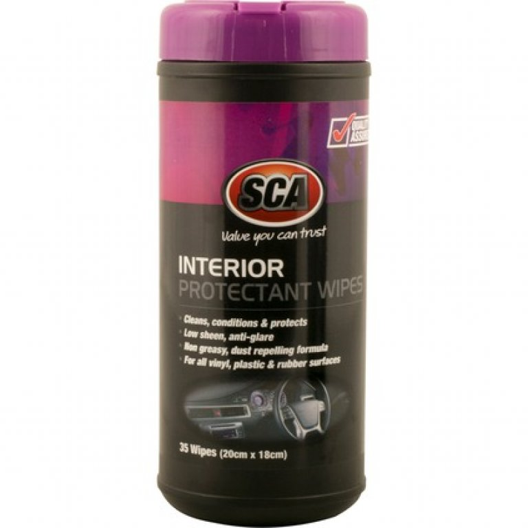SCA Interior Protectant Wipes - 35 PACK