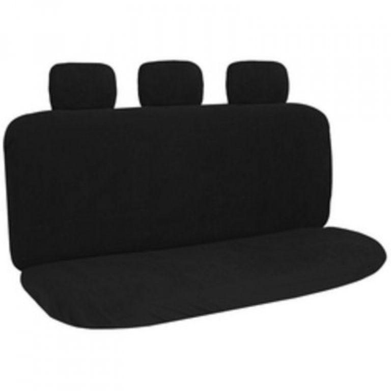 SCA Polypropylene SEAT Covers - Black, Adjustable Headrests, Rear SEAT