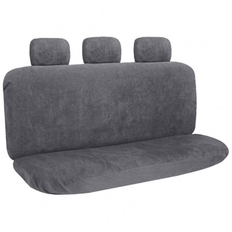 SCA Polypropylene SEAT Covers - Charcoal, Adjustable Headrests, Rear S