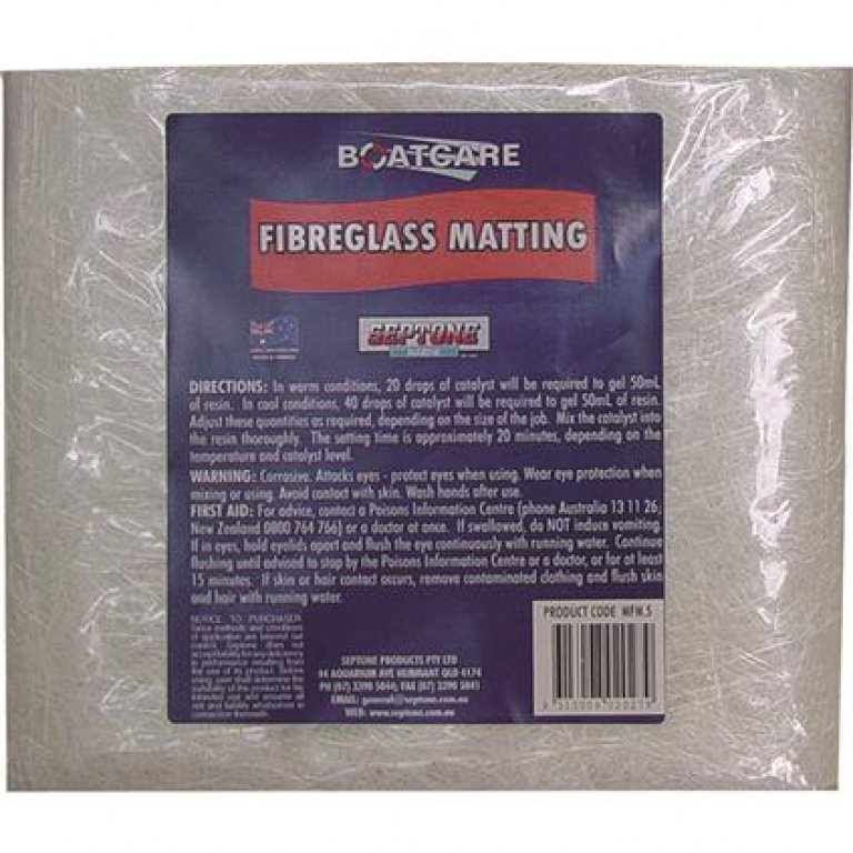 Septone Fibreglass Matting - 0.5sq/m
