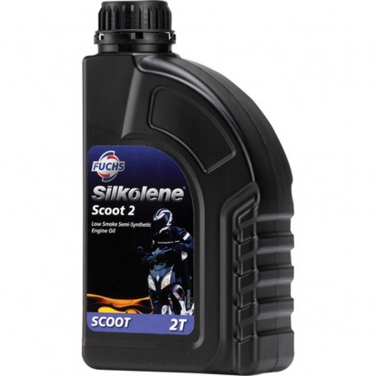 Silkolene Scoot 2 Low Smoke Scooter Oil - 1 Litre