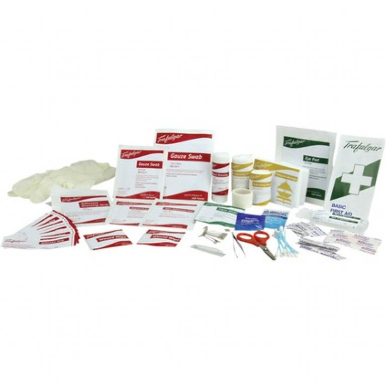Trafalgar 126 Piece Family First AID Kit