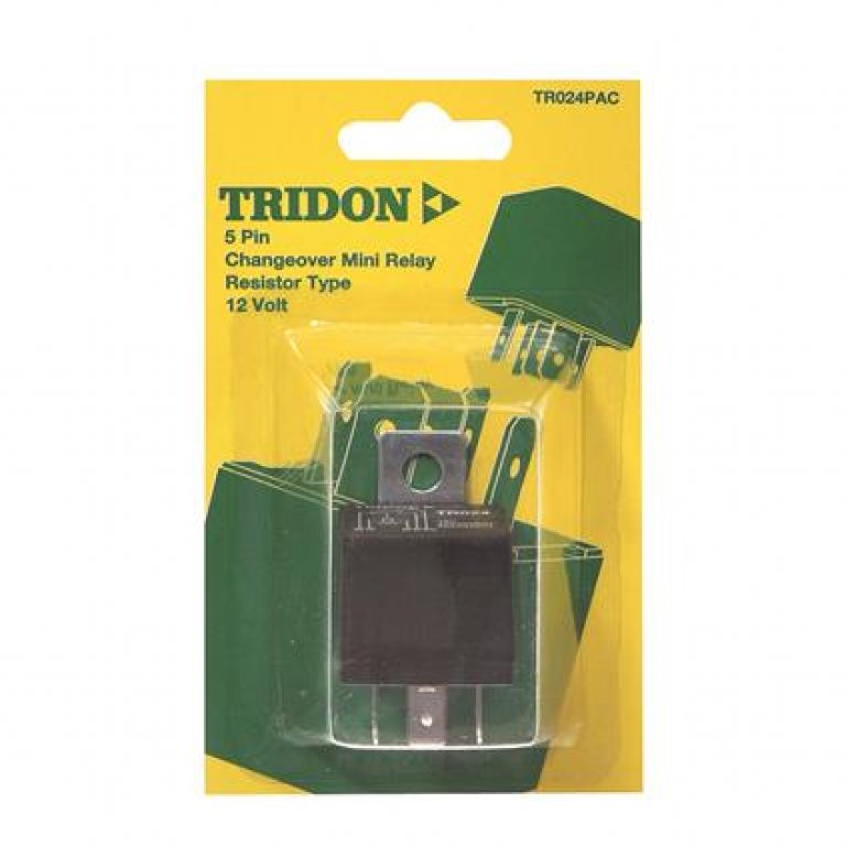 Tridon Mini Relay - 40 / 20 AMP, 5 PIN