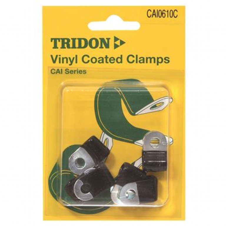 Tridon Vinyl Coated Clamps - 6MM