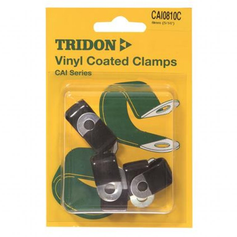 Tridon Vinyl Coated Clamps - 8MM