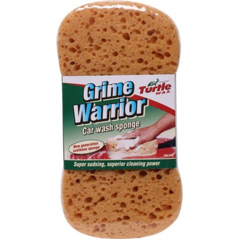 Turtle WAX Grime Warrior Car WASH Sponge