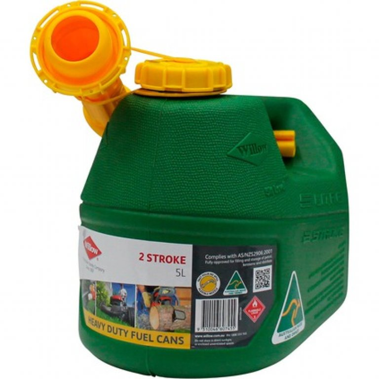 Willow 2 Stroke Jerry Can - 5 Litre