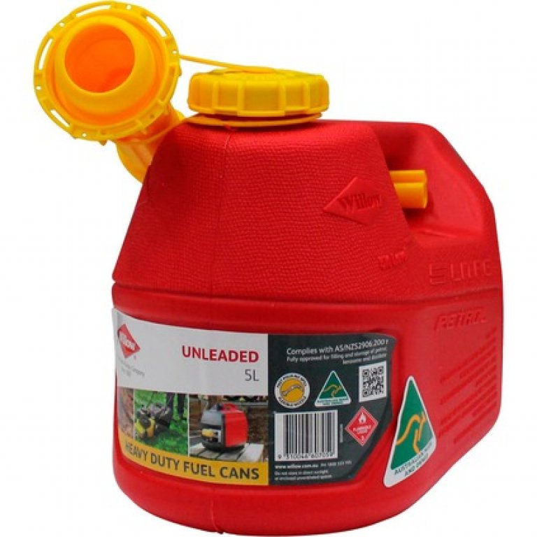 Willow Petrol Jerry Can - 5 Litre
