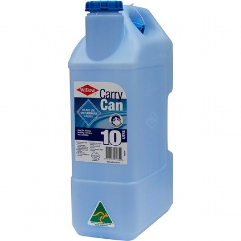 Willow Water Carry Can - 10 Litre, Blue