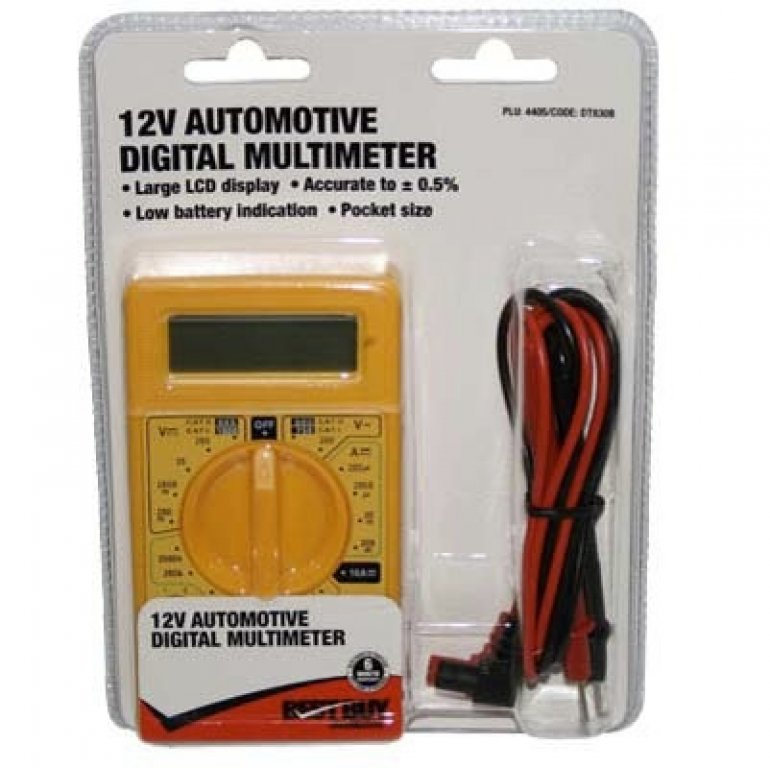 Best Buy Multimeter - Digital, 12V, Automotive
