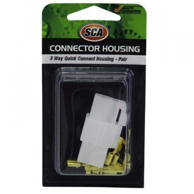 SCA Quick Connect Housing - 3 Way, 20 AMP