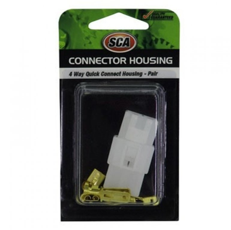 SCA Quick Connect Housing - 4 Way, 20 AMP