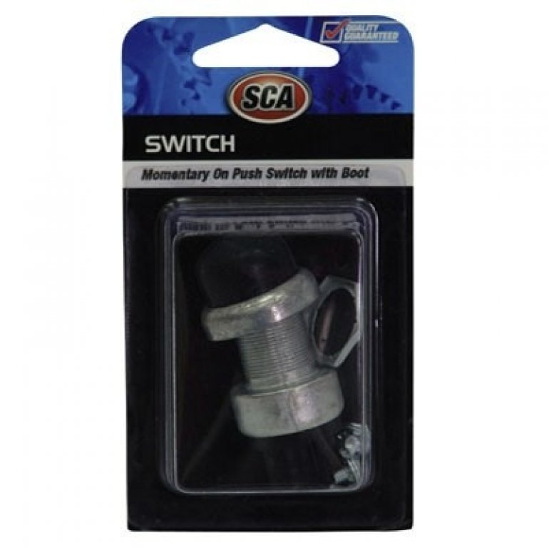 SCA Switch - Momentary On PUSH, 16MM, With BOOT
