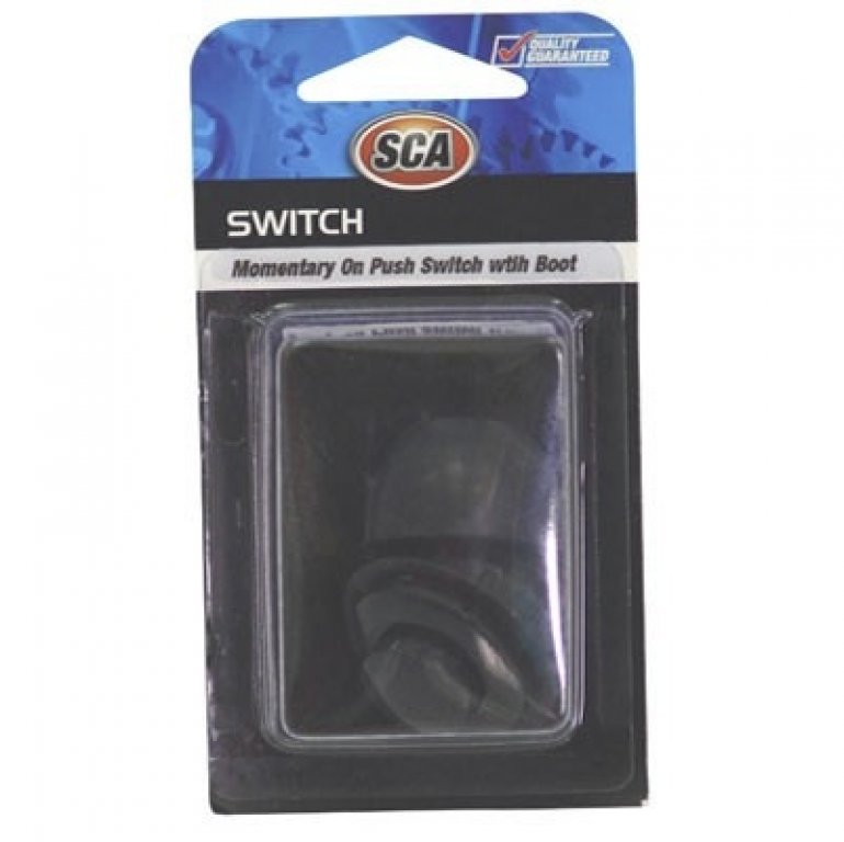 SCA Switch - Momentary On PUSH, 26MM, With BOOT