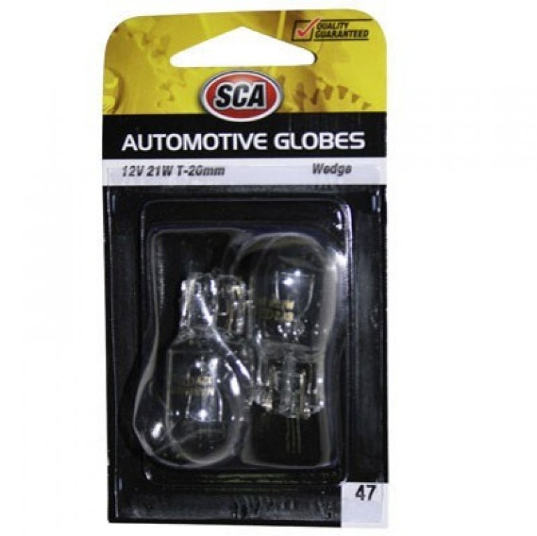 SCA Wedge Bulb - 12V, 21W, T-20MM