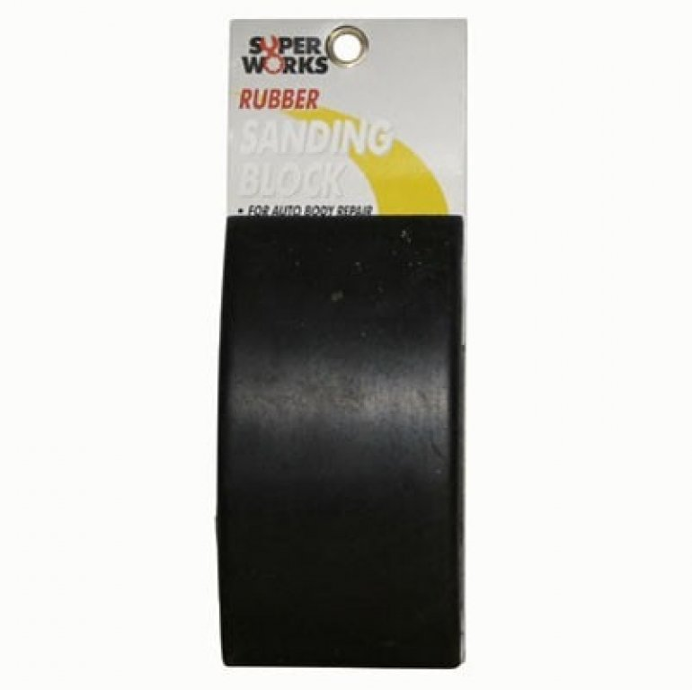 Superworks Sanding Block, Rubber