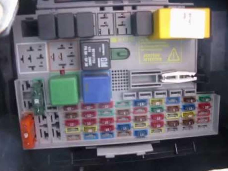 Fuse Box Diagram Holden Barina - Wiring Diagram Filter