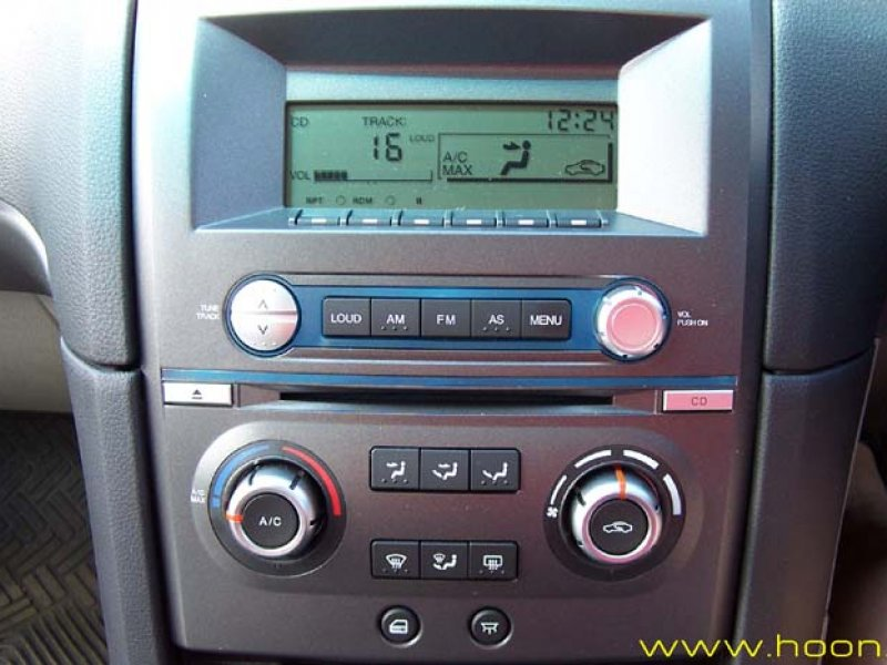Ford Falcon BA-BF aftermarket Radio dash fascia NEW! With AUX