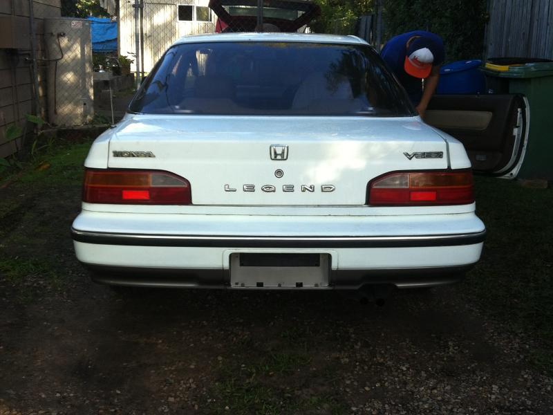 1987 Honda Legend 87 Honda Legend - BoostCruising