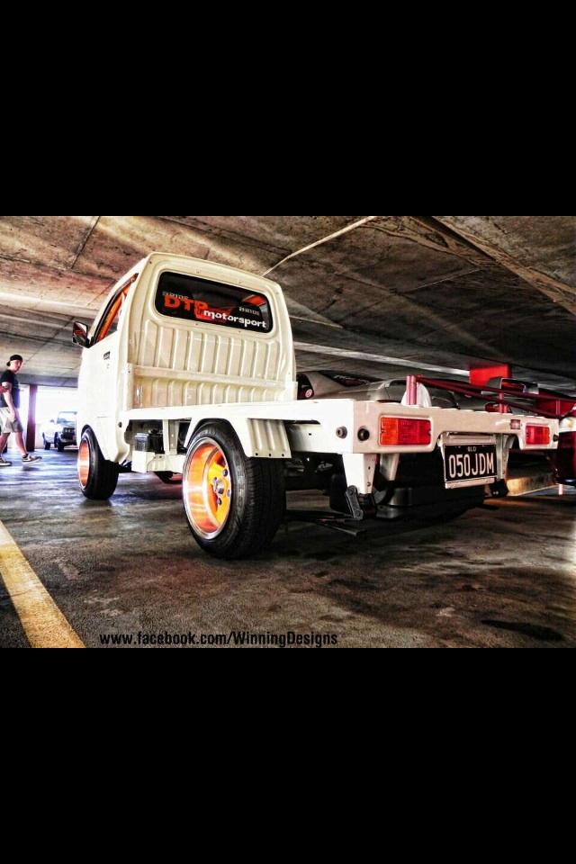 Dtp Motorsport Suzuki Carry Ute