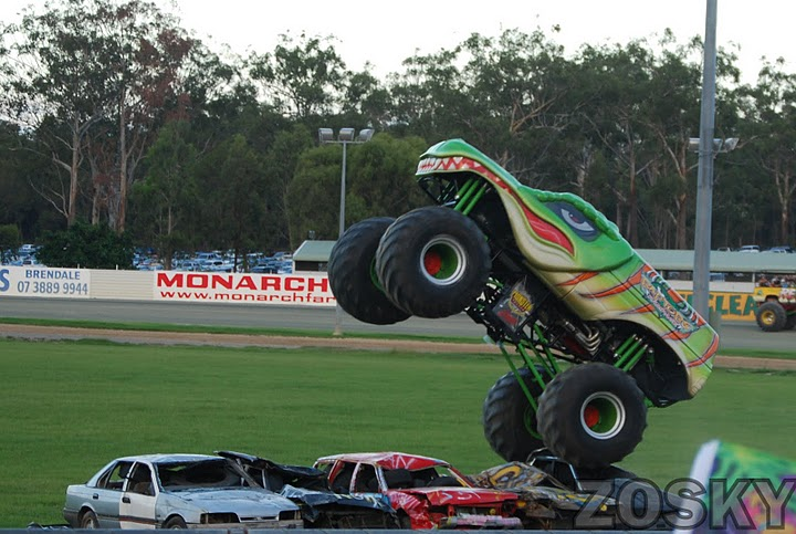 Monster trucks gold coast