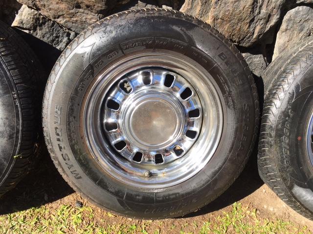 Matthew Gray 12 Slot Mag Wheels 80 Tyres 14x7